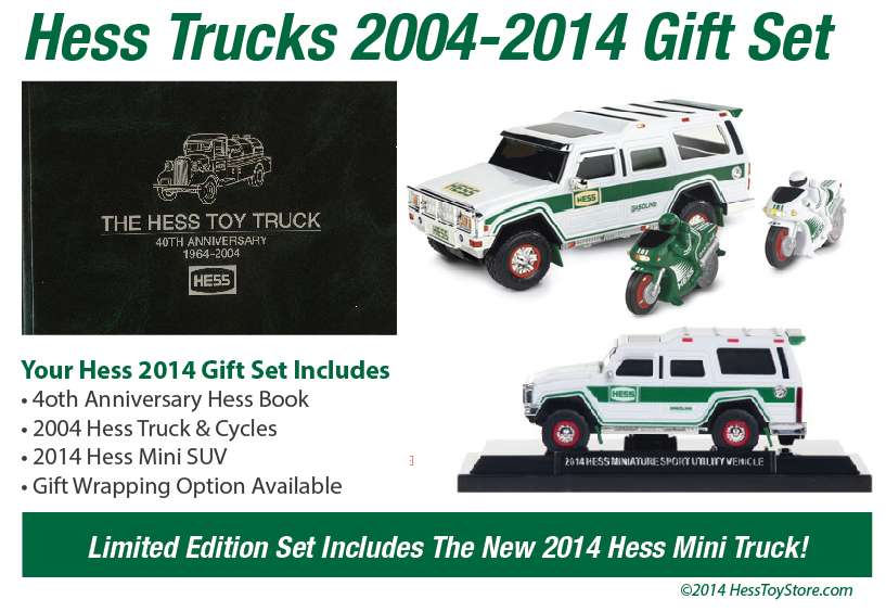 2014 Hess 40th Anniversary Gift Set