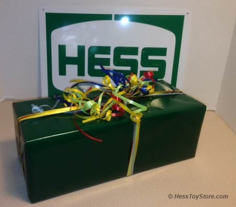 Hess Gift Wrapping