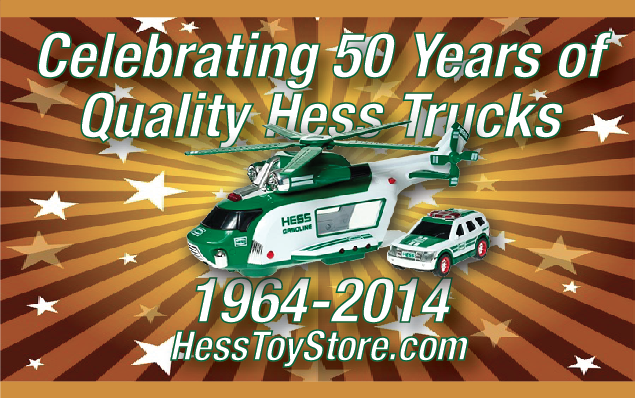 Hess Toy Truck Celebrating 50 Years