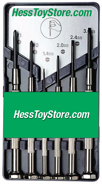 Hess 6 Piece Screwdriver Set