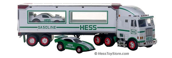 1997 Hess 18 Wheeler and racer