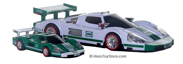 2009 Hess Racecar and Racer