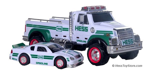 2011 Hess Toy Truck and Racer