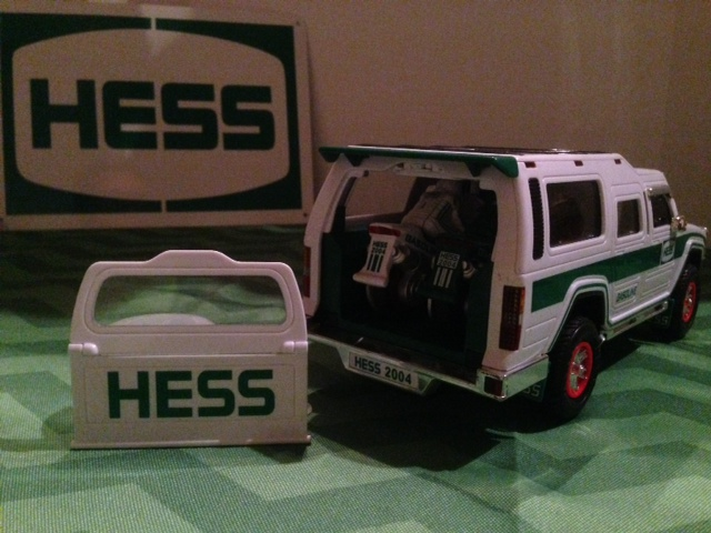 Hess 2004 Rear Door Assembly