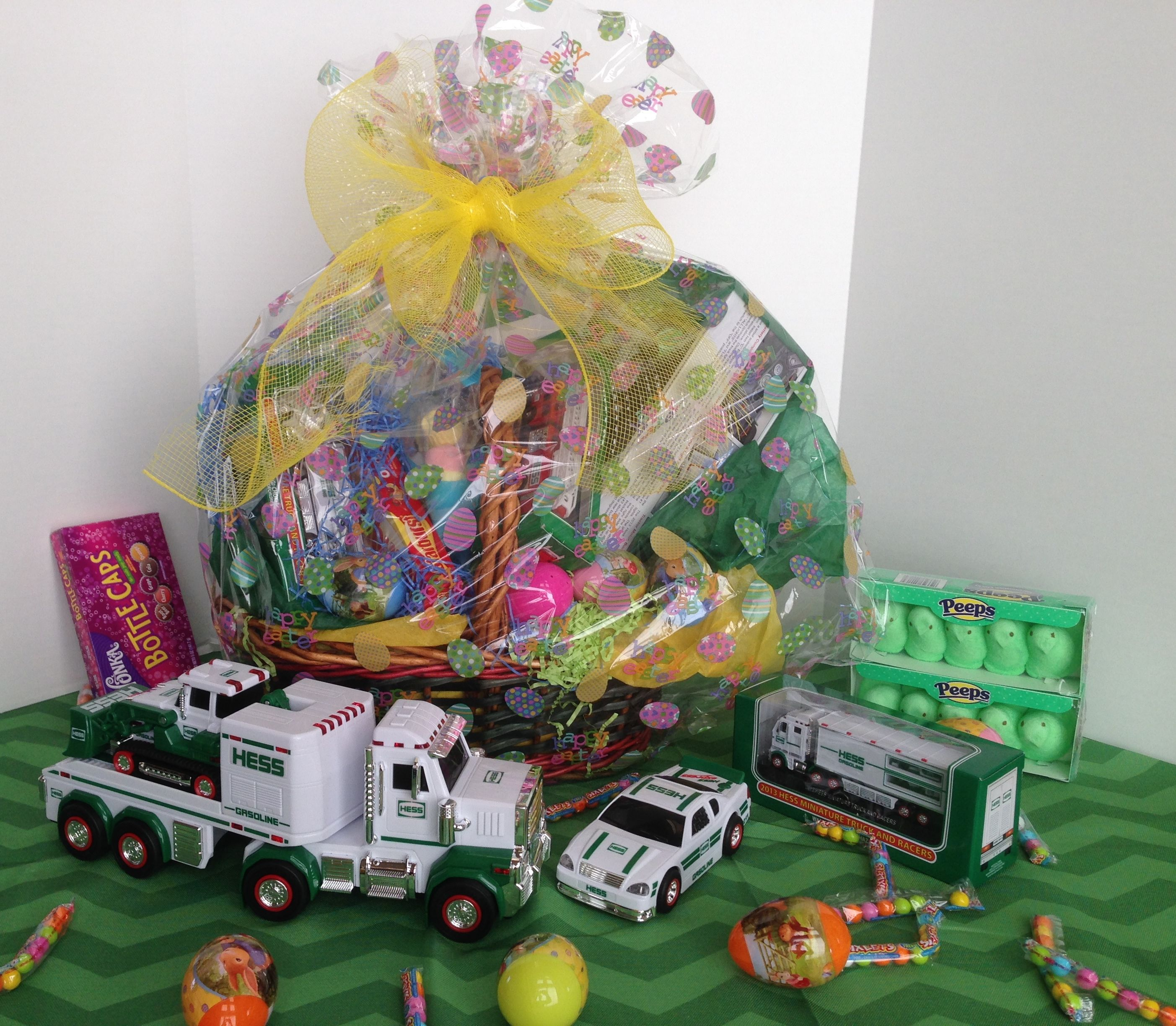 Hess Trucks Mega Easter Basket