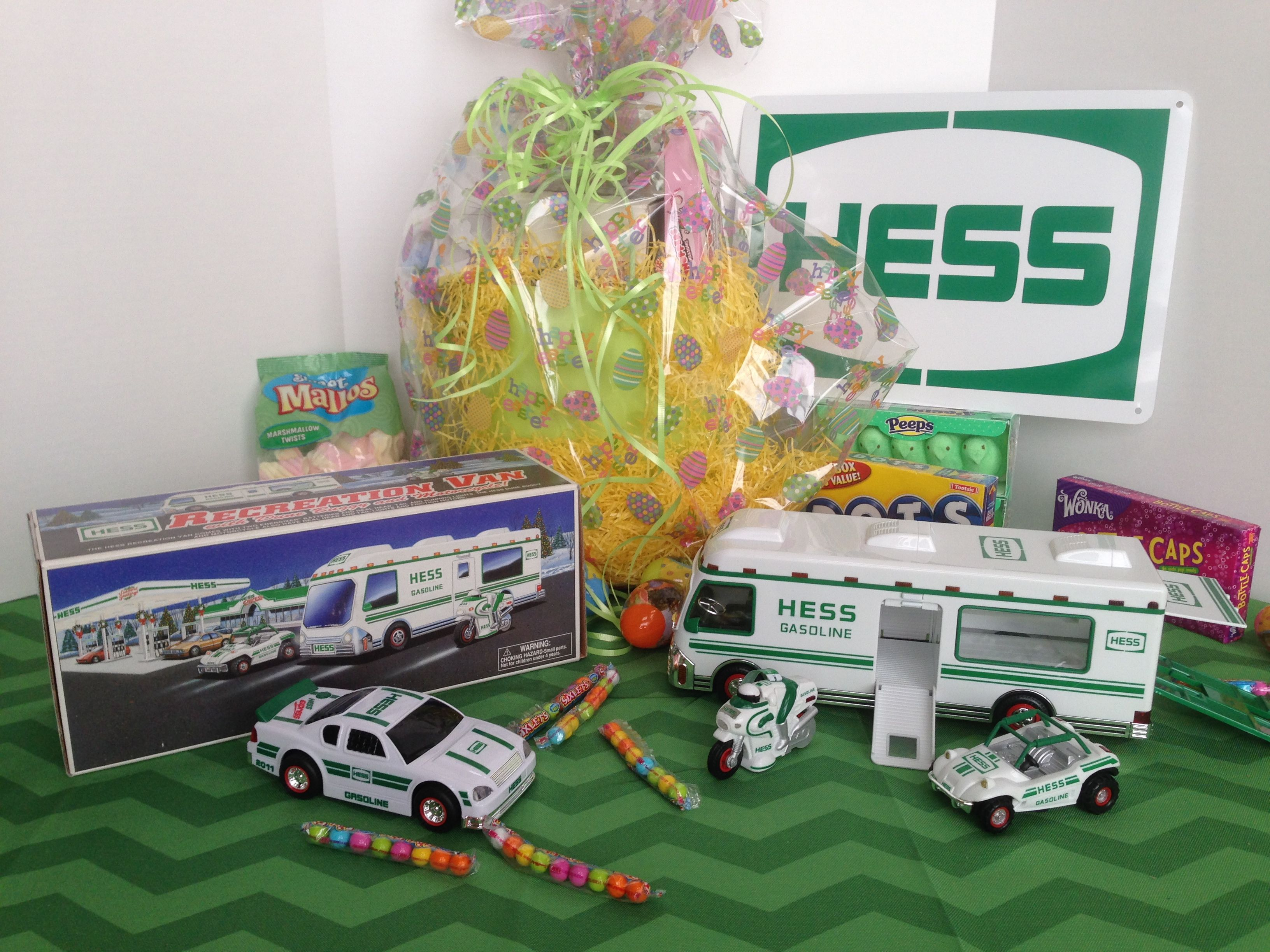 Hess RV Easter Basket
