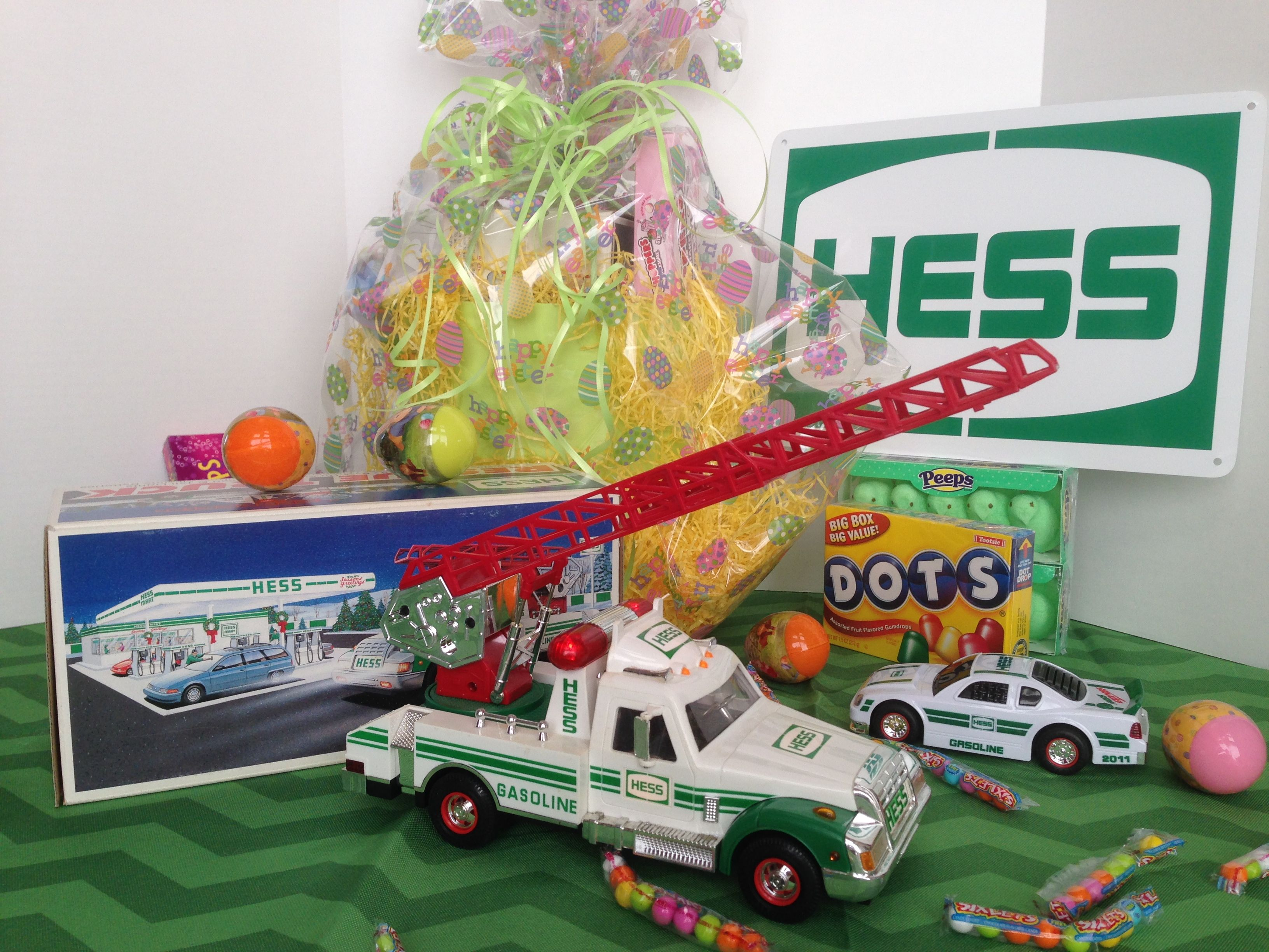 Hess To The Rescue Easter Basket