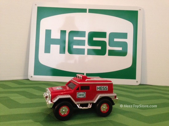 2005 Hess Rescue Vehicle Only in Brown Box
