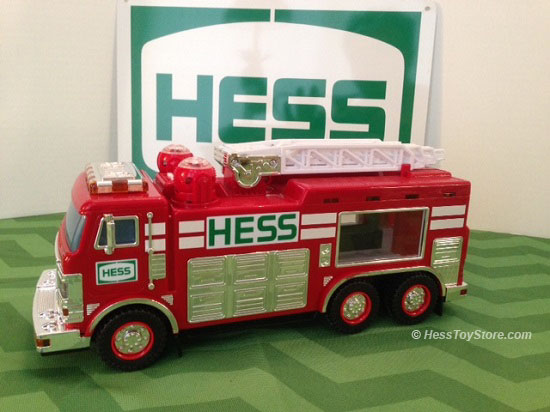 2005 Hess Emergency Truck Only in Brown Box