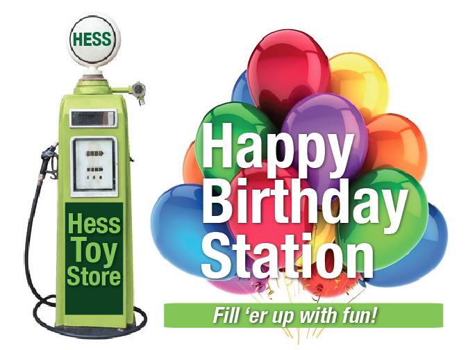 Hess Trucks Birthday Parties