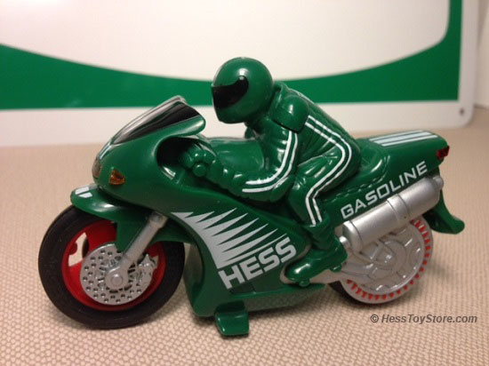 Hess 2004 Green Motorcycle Only