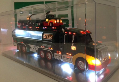 Hess 2014 Truck Display Case