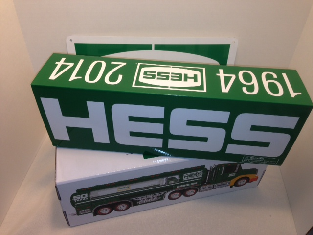 2014 Hess Collector's Limited Edition Replacement Box