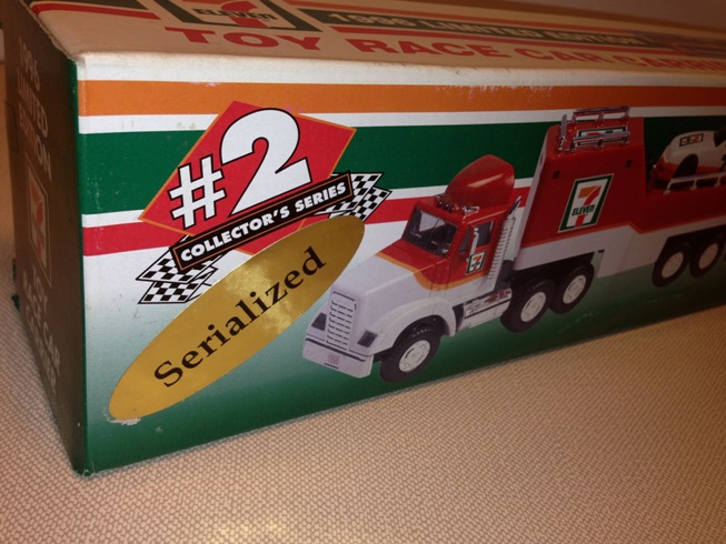1996 7-Eleven Toy Race Car Carrier (3)